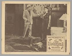 Lobby card for The Betrayal