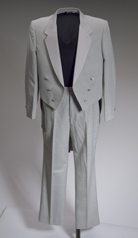 Image 1 for Grey tail coat worn by Cab Calloway
