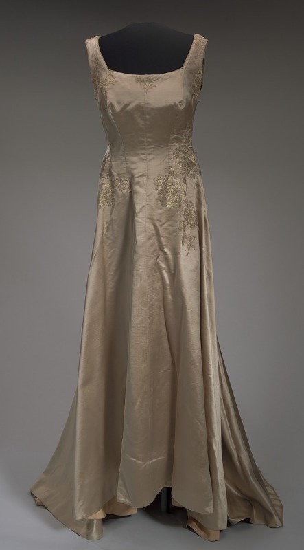 Image 1 for Satin gown worn by Marian Anderson and Denyce Graves