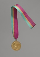 Image for 1984 Olympic Gold Medal for Men's 200M awarded to Carl Lewis