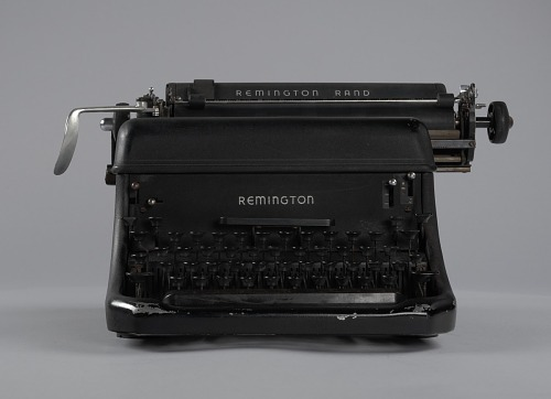 Image for Typewriter used by B. C. Franklin