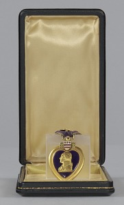 images for Purple Heart medal bestowed on Sergeant Cornelius H. Charlton-thumbnail 3