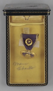 images for Purple Heart medal bestowed on Sergeant Cornelius H. Charlton-thumbnail 8