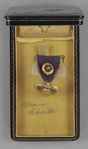 Image for Purple Heart medal bestowed on Sergeant Cornelius H. Charlton