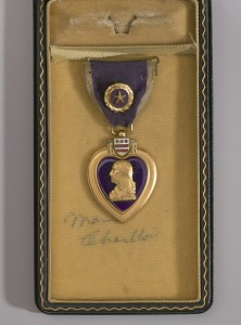 images for Purple Heart medal bestowed on Sergeant Cornelius H. Charlton-thumbnail 11