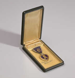 images for Purple Heart medal bestowed on Sergeant Cornelius H. Charlton-thumbnail 12