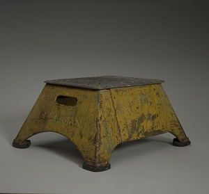 images for Platform step stool used by Pullman Palace Car Company-thumbnail 1