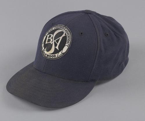 Image for Navy blue baseball cap for the Black Stuntmen's Association