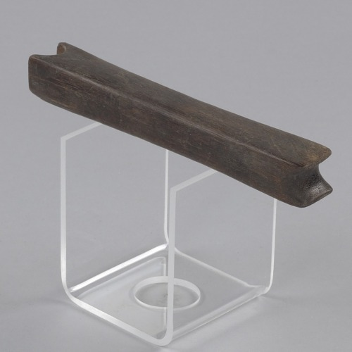Image for Wood leatherworking slicker (scraping tool)