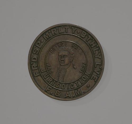 Image for Medal depicting Prince Hall and Freemasonry