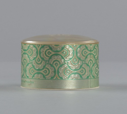 Image for Green and gold makeup box from Mae's Millinery Shop