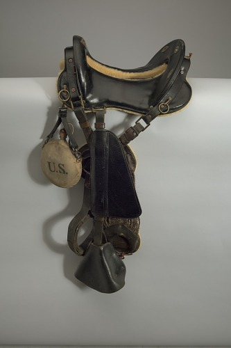 Image for Horse saddle used by stuntman Ernest