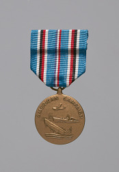 American Campaign service medal awarded to Lorenzo DuFau