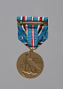 Thumbnail for American Campaign service medal awarded to Lorenzo DuFau