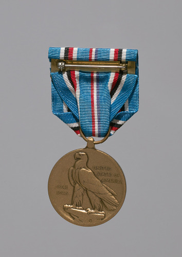 Image for American Campaign service medal awarded to Lorenzo DuFau