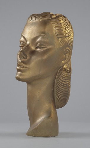Image for Female mannequin head from Mae's Millinery Shop