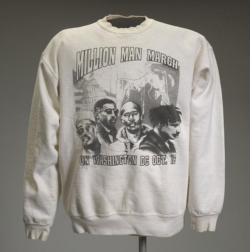 Image for Sweatshirt depicting the Million Man March