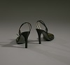 images for Pair of black stiletto heel shoes by Charles Jourdan from Mae's Millinery Shop-thumbnail 9