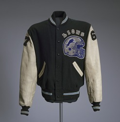 Detroit Lions jacket worn by Eddie Murphy in the film Beverly Hills Cop II