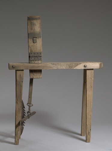 Image for Stitching pony belonging to and used by William Sugg