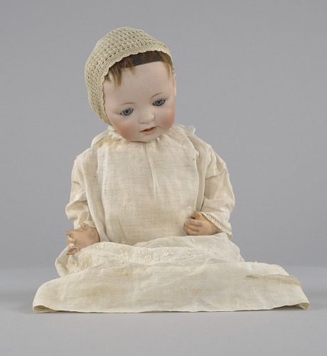 Image for Doll owned by Clementine Roundtree Cottee and Josephine English Church