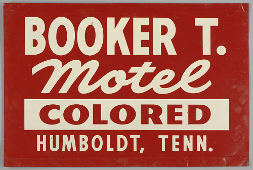 Image for Sign for the Booker T. Motel