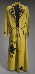 Yellow and black pants worn by Bootsy Collins