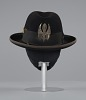 thumbnail for Image 10 - Felt hat with medallion worn by Bo Diddley