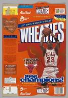 Wheaties cereal box featuring Michael Jordan