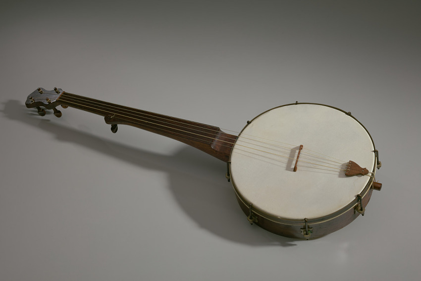 Banjo made in the style of William Esperance Boucher, Jr.