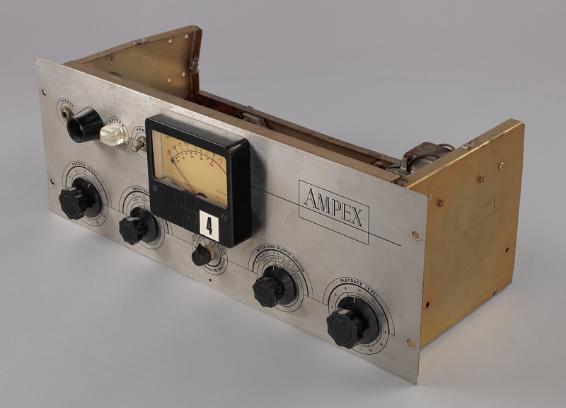 Image 1 for Ampex 351 microphone pre amp owned by Bo Diddley