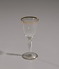 Thumbnail for Glass stemware with gold decoration from Mae's Millinery Shop