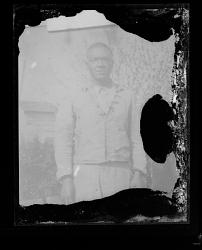 Copy Work, Outdoor Portrait of a Man Standing