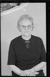Studio Portrait of a Woman Sitting, Diptych