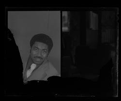 Studio Portrait of a Man Sitting, Diptych