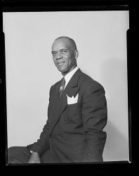 Studio Portrait of a Man Sitting, Rev. Richardson