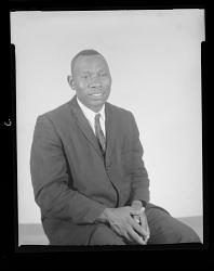 Studio Portrait of a Man Sitting, Rev. Watson