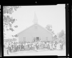 Outdoor Group Shot of the Church Congregation