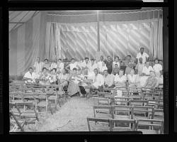 Indoor Group Shot of Men and Women
