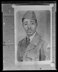 Copy Work, Portrait of a Man Wearing a Military Uniform