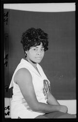 Studio Portrait of a Woman Sitting, Dorothy Smith