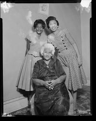 Studio Portrait of Three Women