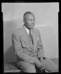 Studio Portrait of a Man Sitting, Rev. J.F. Redman
