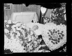 Woman in Open Casket, Post-Mortem