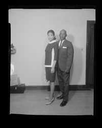 Studio Portrait a Couple Standing