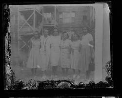 Copy Work, Photo of Six Women Standing