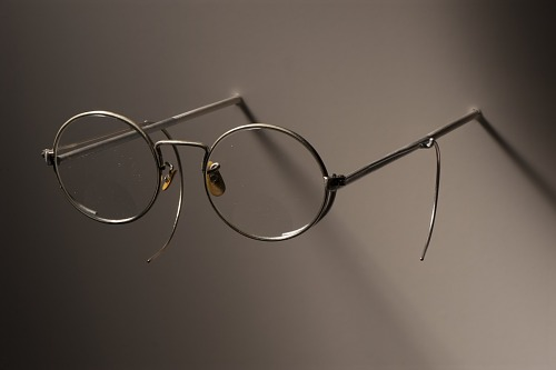 Image for Glasses of Henry W. Dennis with eyeglass case