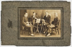Photograph of Hall Johnson and the Negro String Quartet