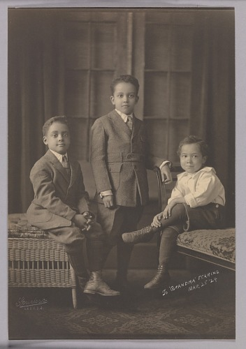 Image for Photographic print of Robert, Addison F. and George Scurlock