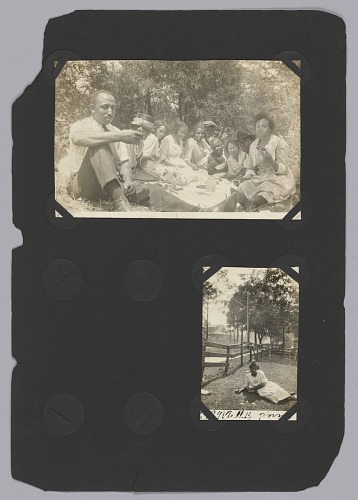 Image for Photo of a group of people having a picnic